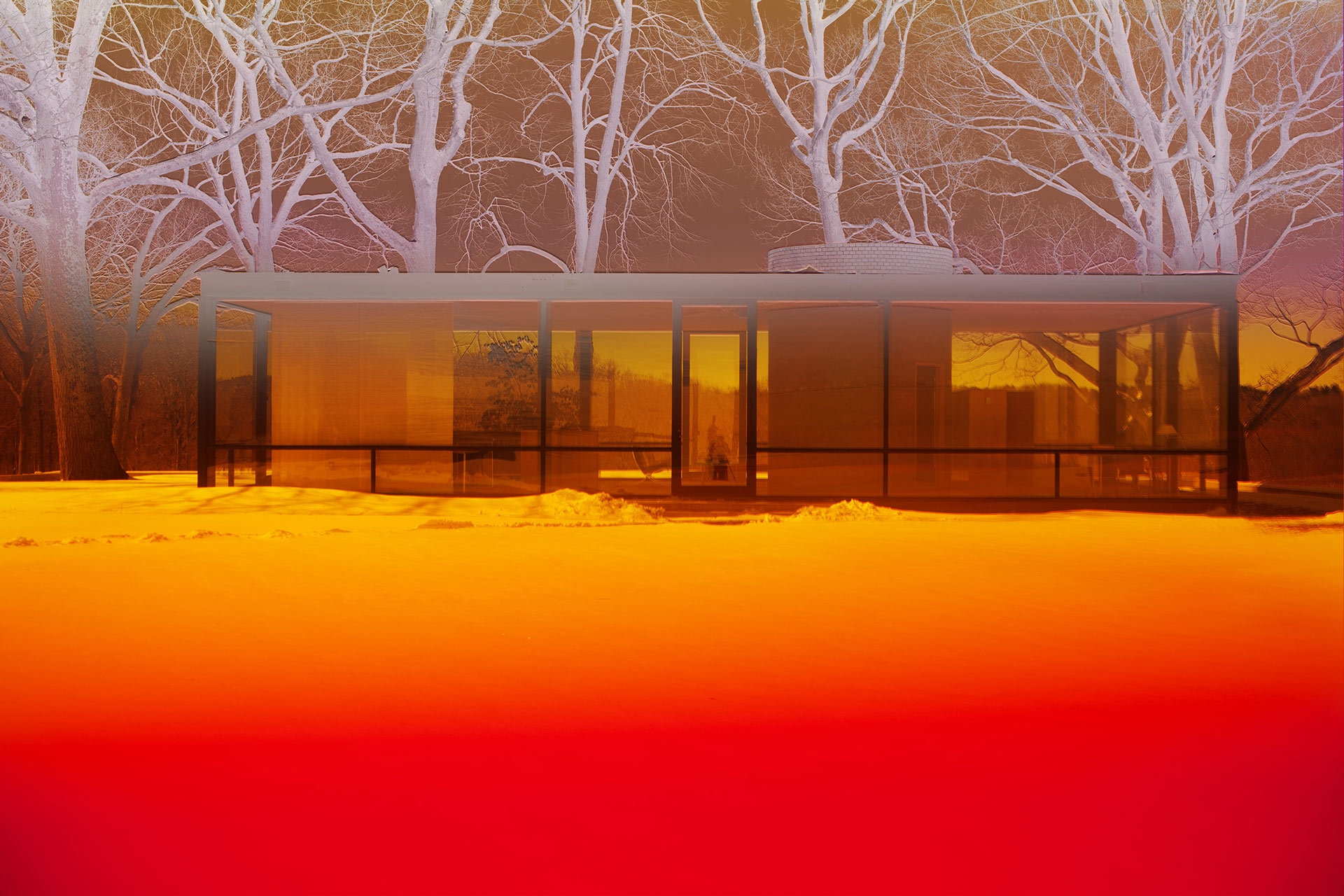 A photograph by James Welling, titled 0472, dated 2017.