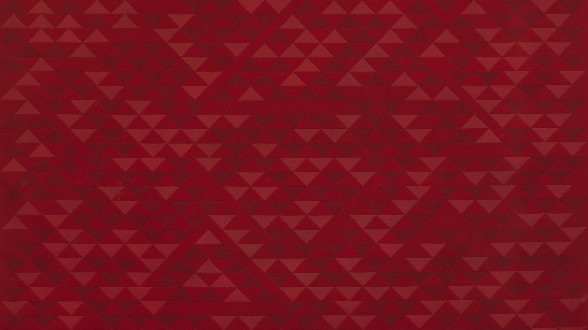 A detail of a textile by Anni Albers, titled Camino Real, dated 1968.