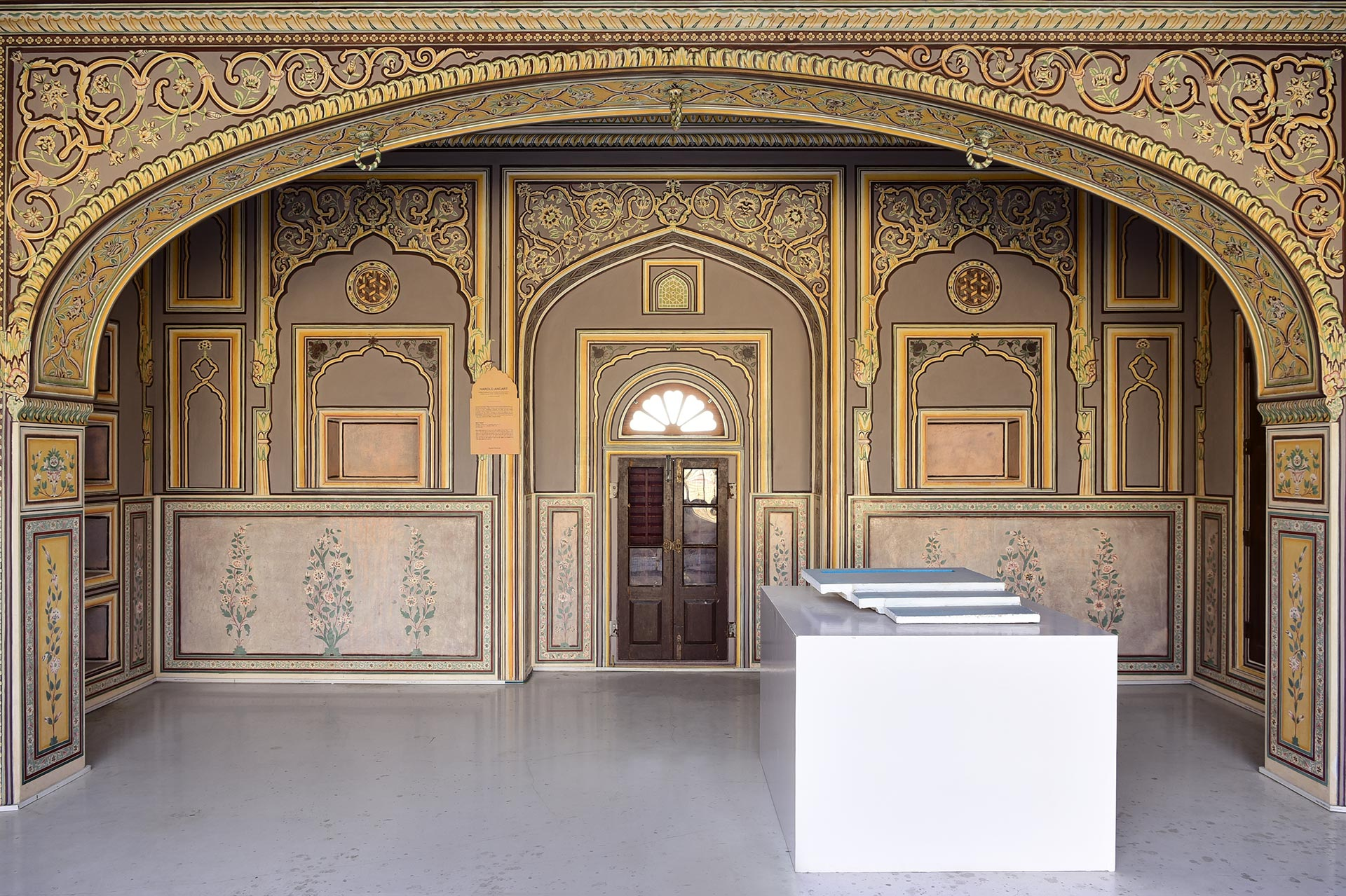 Installation view of the 2019 exhibition at The Sculpture Park at Madhavendra Palace in Jaipur, India, dated 2019.