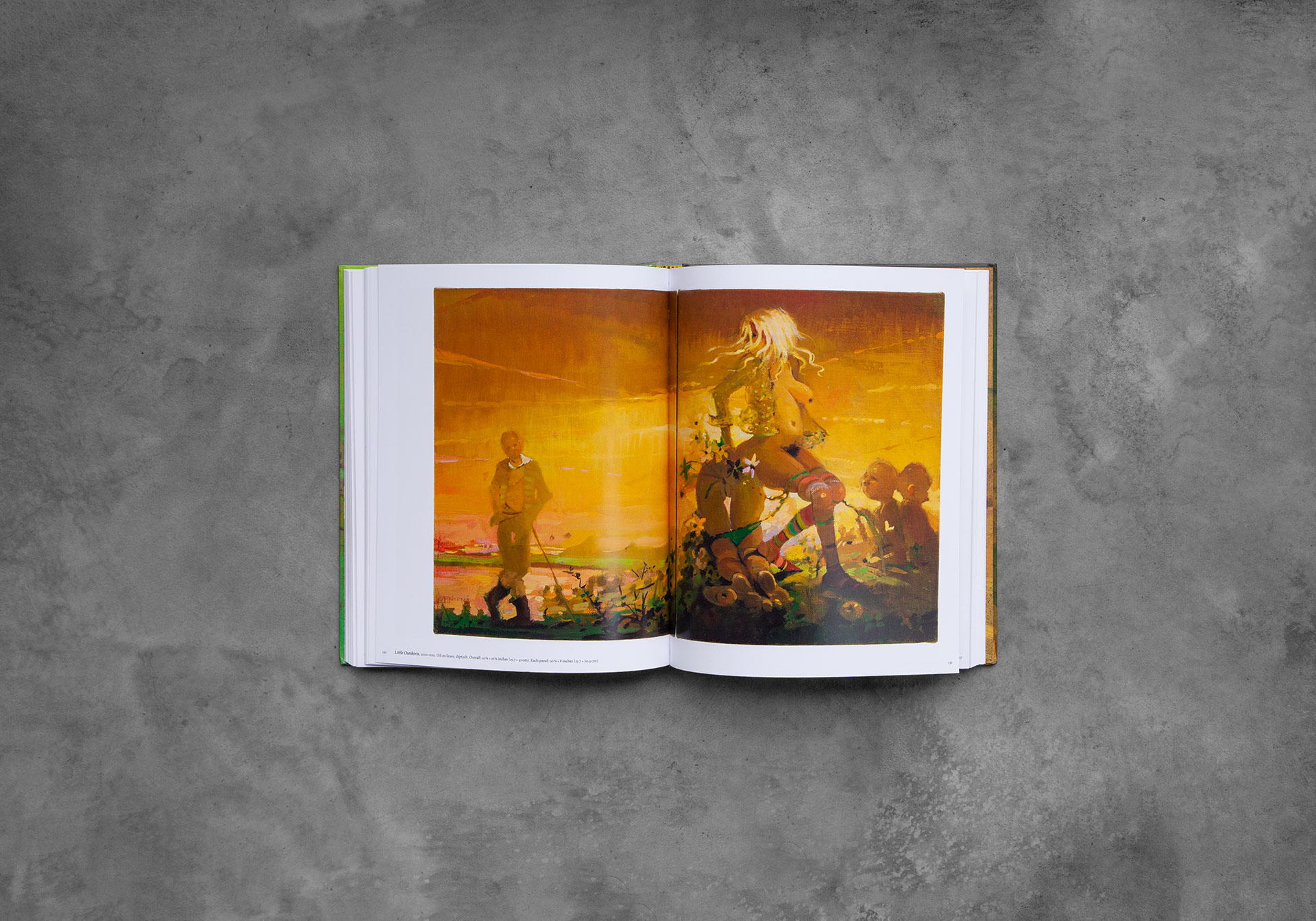 Photo of a book titled Lisa Yuskavage: Babie Brood, Small Paintings 1985–2018.