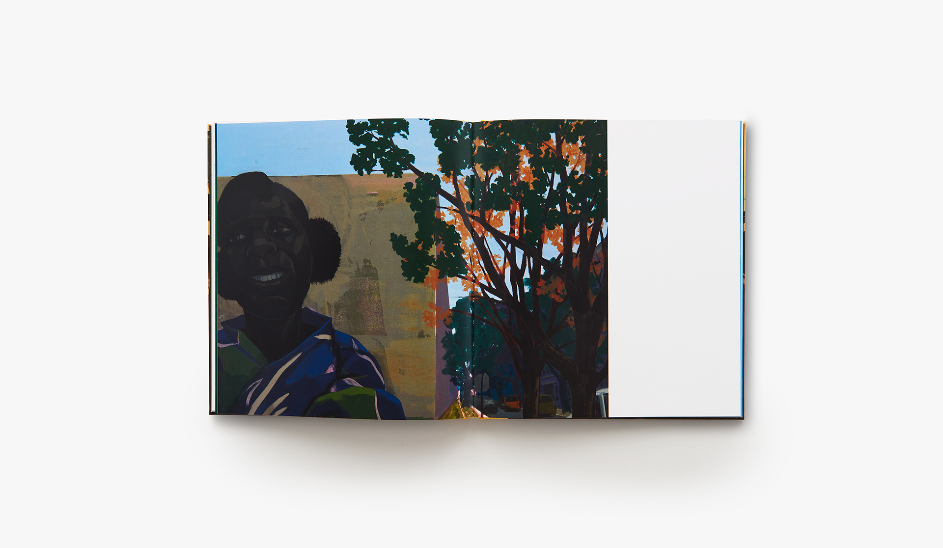 A photo of the book Kerry James Marshall: History of Painting, 2019.